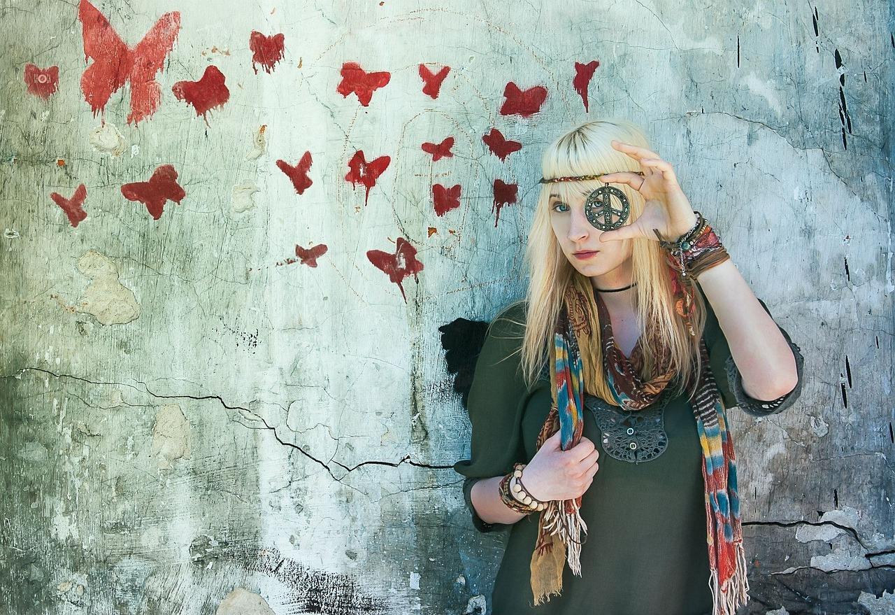 Hippie- Kleider lassen euer Herz höher schlagen