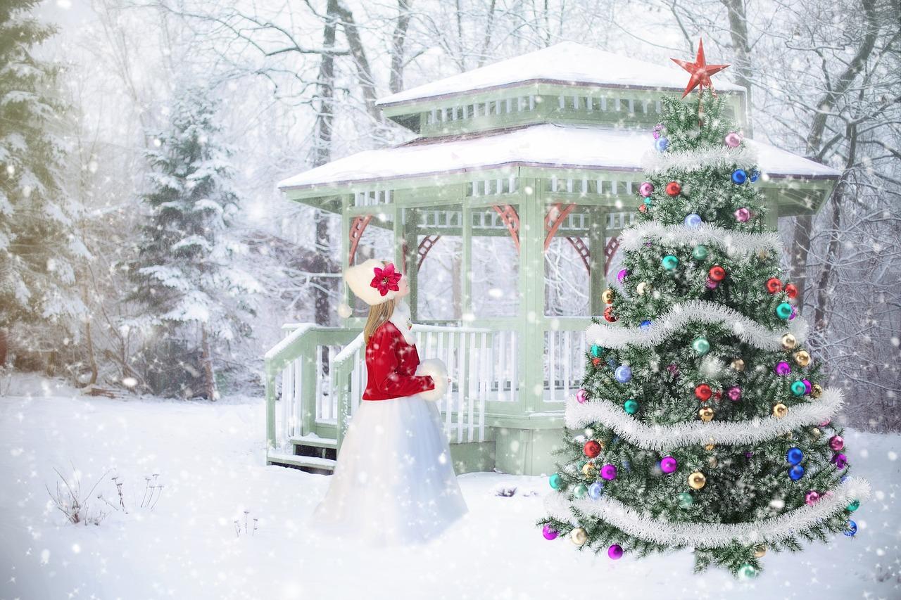 Kleider für Weihnachten