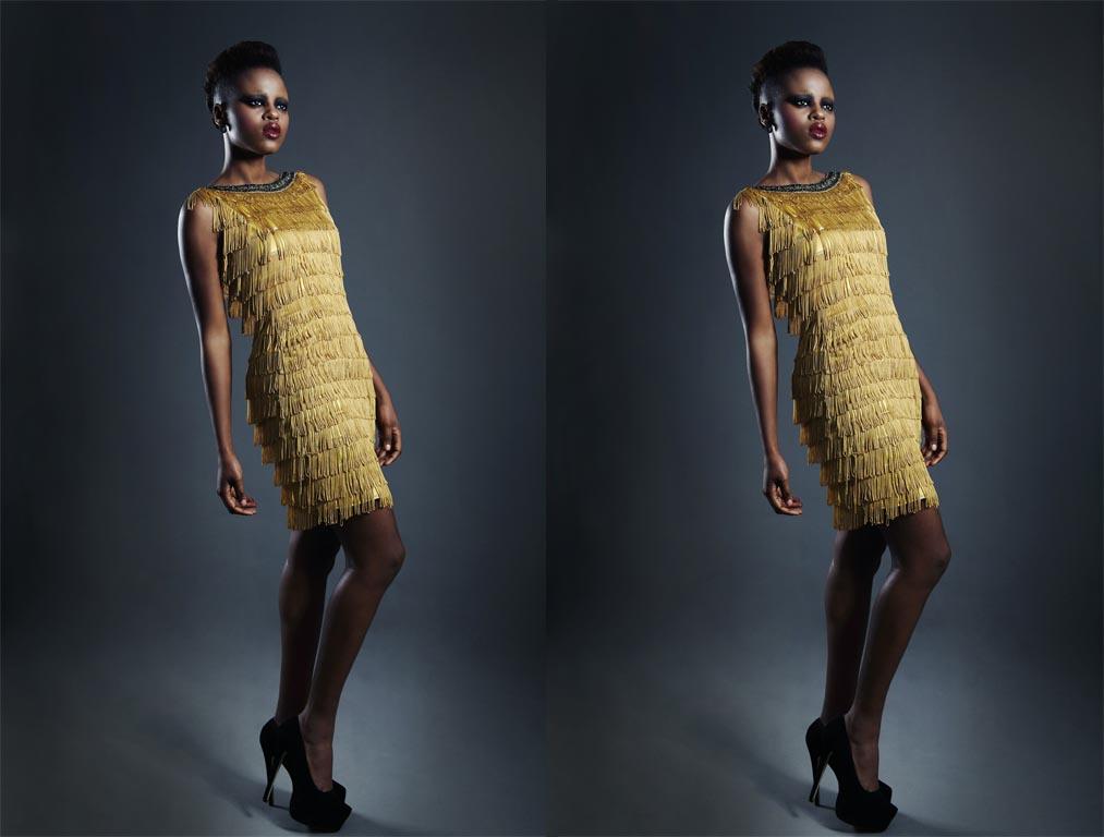 Lurex Kleider – bequem & glänzend