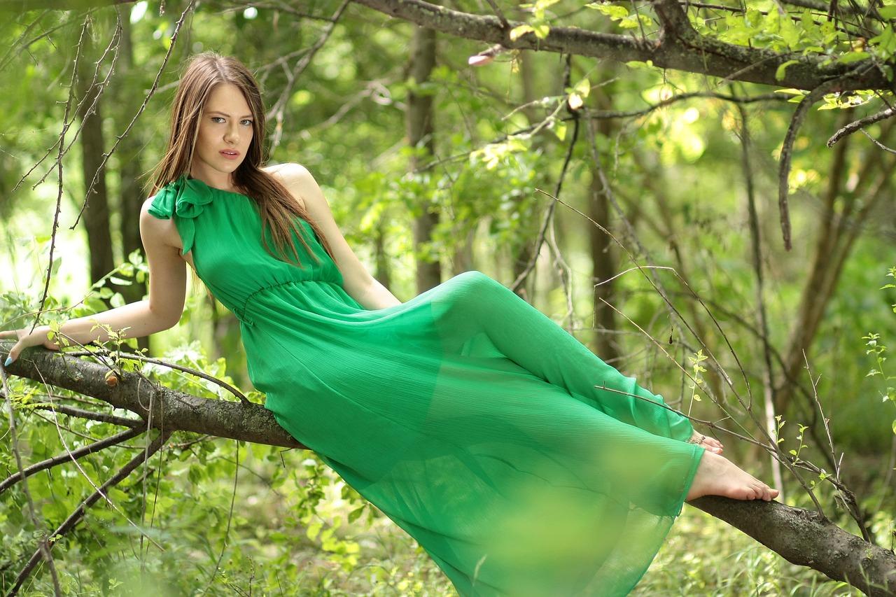 Grün, grün, grün sind alle meine Kleider…