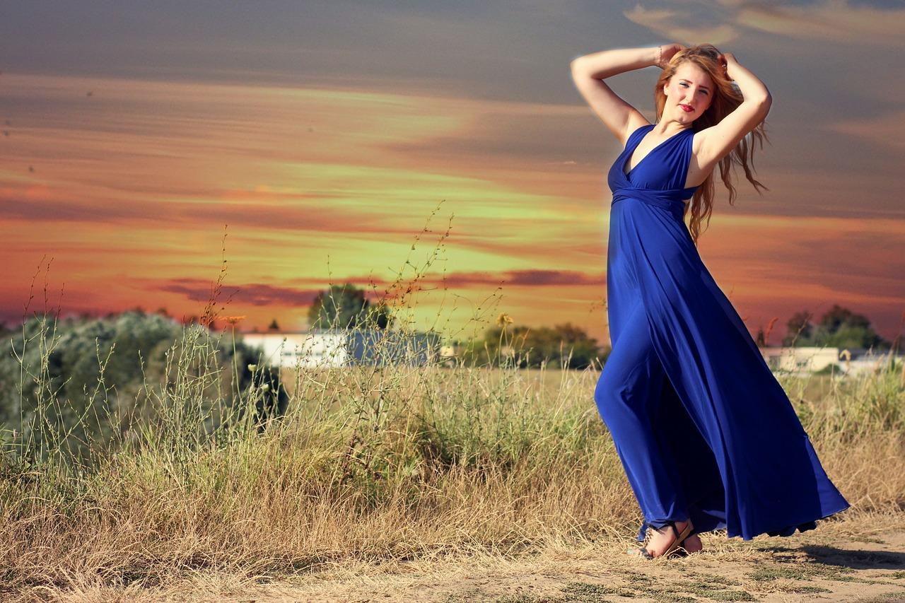 Blaue Kleider – Highlight 2017