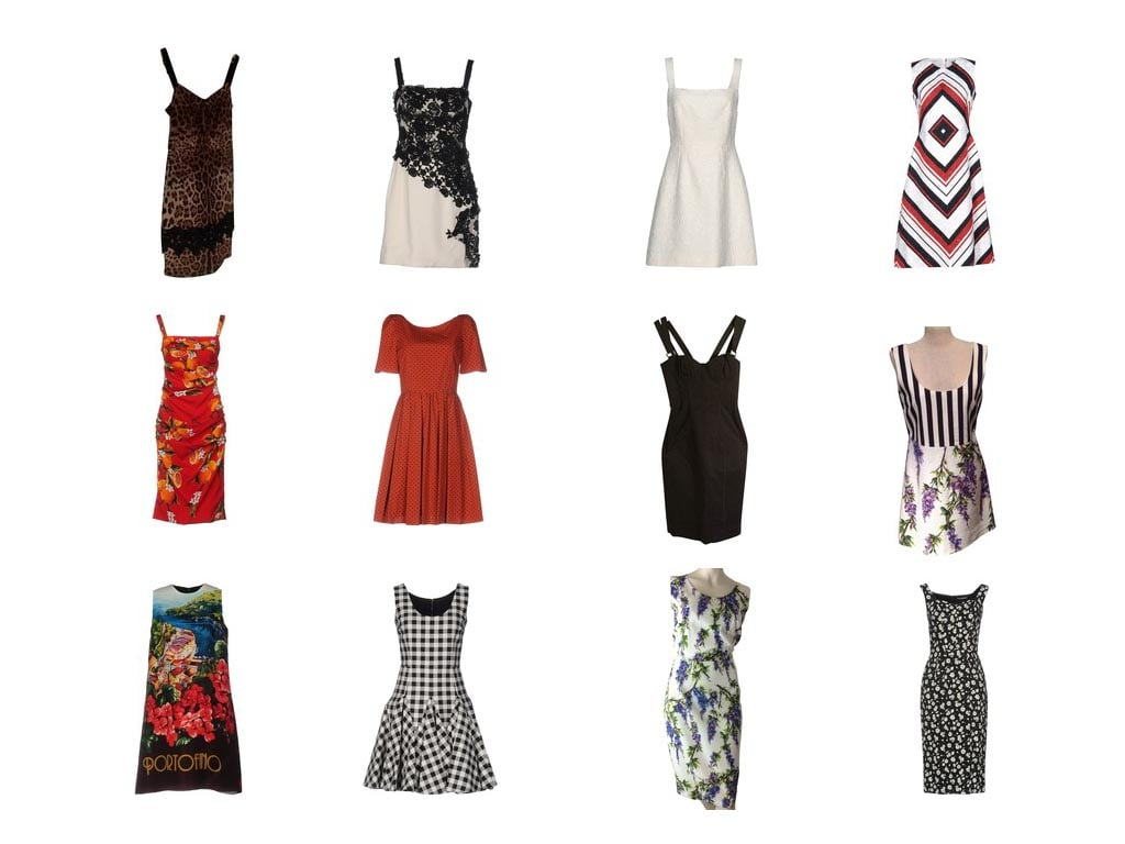 Kleider von Dolce & Gabbana