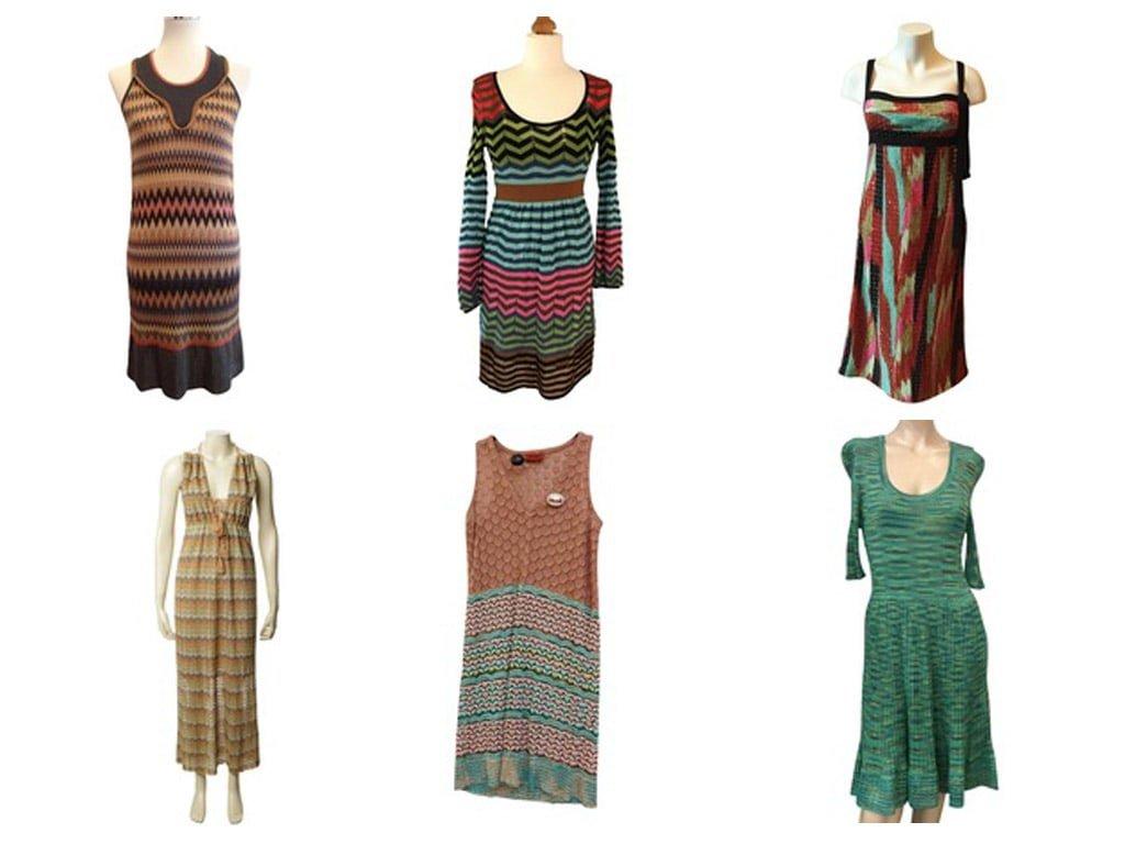 Kleider von Missoni – Highlights auf dem Laufsteg