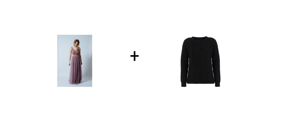 Pullover + Kleid = Dreamteam