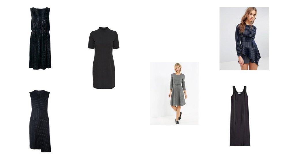 Trend Look: Nadelstreifen Kleid